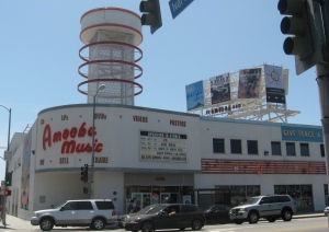 Amoeba Records in Hollywood