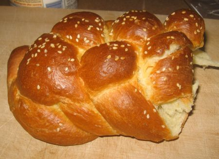 Leftover Challah