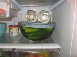 You've gotta have a lot of room in the fridge!