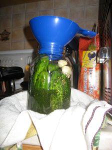 Mmm, pickle juice.